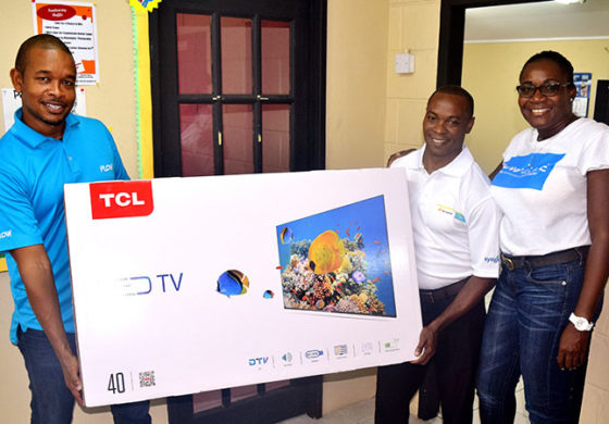 Flow customer wins TV in Endless Everything Summer