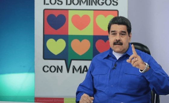 Maduro: We Are Convinced Venezuela Has the Support of the World