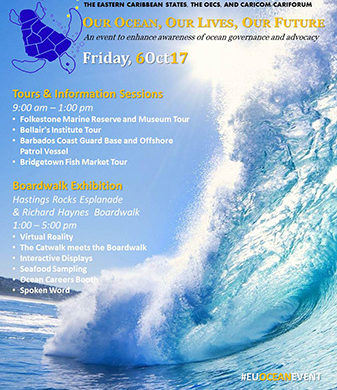 Oceans Awareness Event 6 October 2017