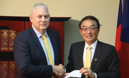 Government announces plans to broaden constituency projects as Taiwan presents grant to CDP