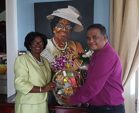Sandals Resorts pay Tribute to Dame Pearlette Louisy