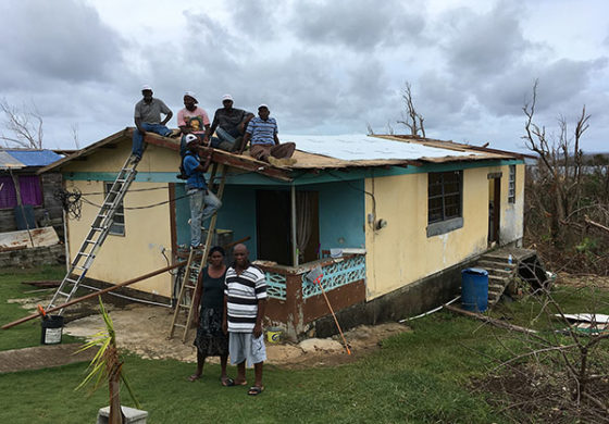 Meeting Urgent Shelter Needs in Dominica