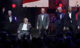 Five ex-Presidents unite for relief concert