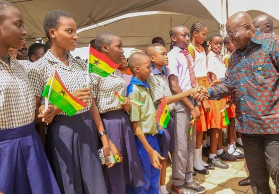 Ghana: Free chocolate for every student