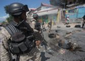 Haiti police use tear gas to stop tax protest