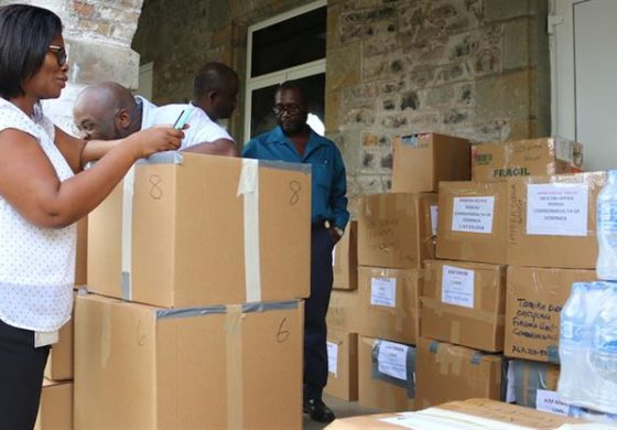 OECS, private sector donate emergency relief supplies to Dominica