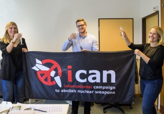 Nobel Peace Prize awarded to anti-nuclear campaign group