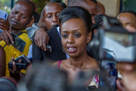 Rwandan president's challenger faces incitement charge in court