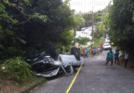 Three injured in Choiseul accident