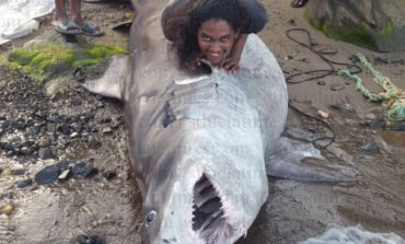 Soufriere fisherman makes huge catch – this is the big one, baby!