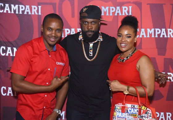 Campari surprises with welcome cocktail event