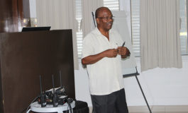 Staff at St. Lucia National Mental Wellness Centre receive 2 Way Radio Communication Training