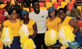 Corporate Saint Lucia takes time out for futsal