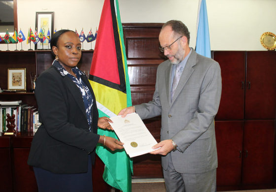 Guyana's contribution to regional integration lauded during accreditation of their new Ambassador to CARICOM