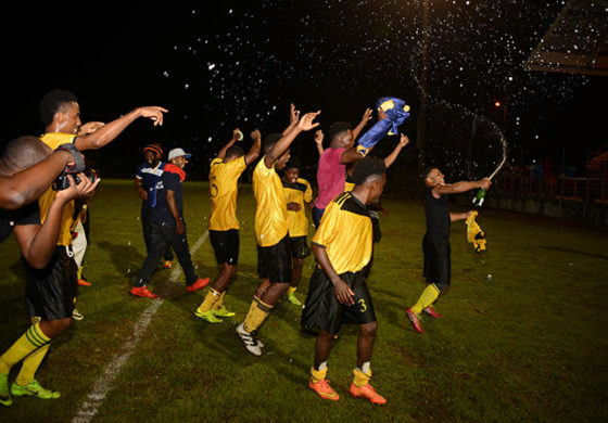Coconut Bay Hard Nuts are SLHTA Football Champions Again