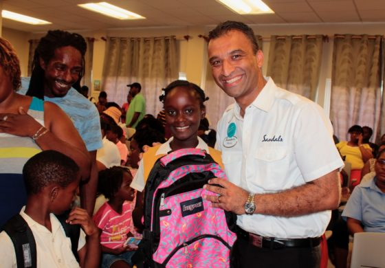 Sandals Foundation supports hurricane displaced students