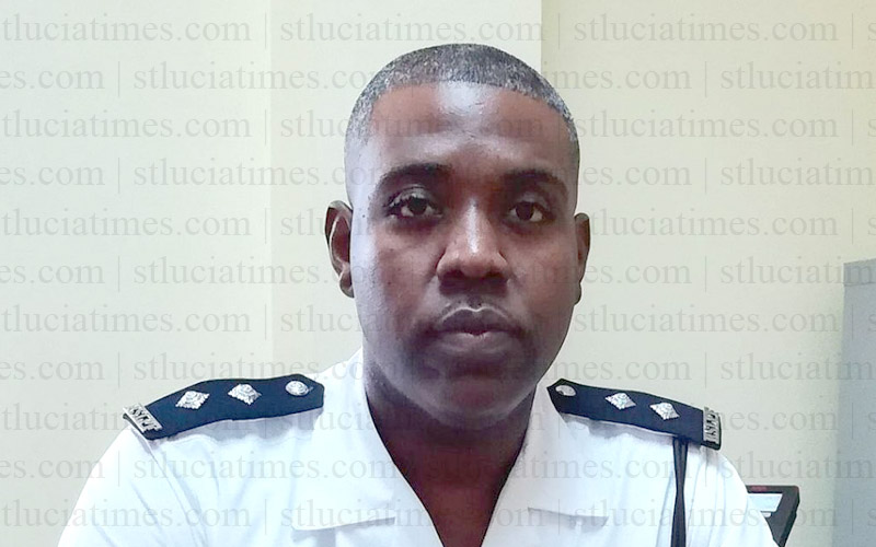 Shervon Matthieu - Acting Inspector of Police (Saint Lucia)
