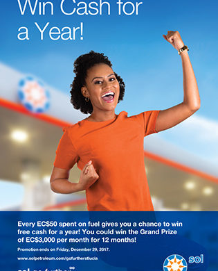 Sol's Win Cash for a Year Promotion