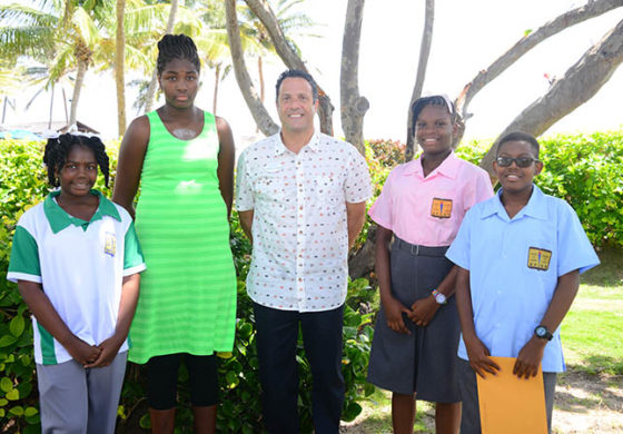Four Coconut Bay Employees Receive Financial Support for the Educational Advancement of their Children