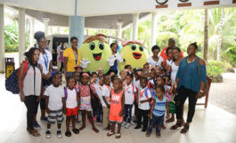 Choiseul Preschoolers Hosted by Coconut Bay for Universal Children's Day