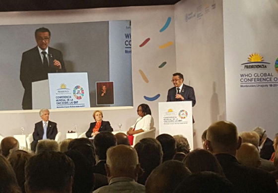 Minister of Health and Wellness returns from WHO Global Conference on NCD's