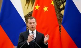 Russia's Medvedev says the world shouldn't be dominated by one currency