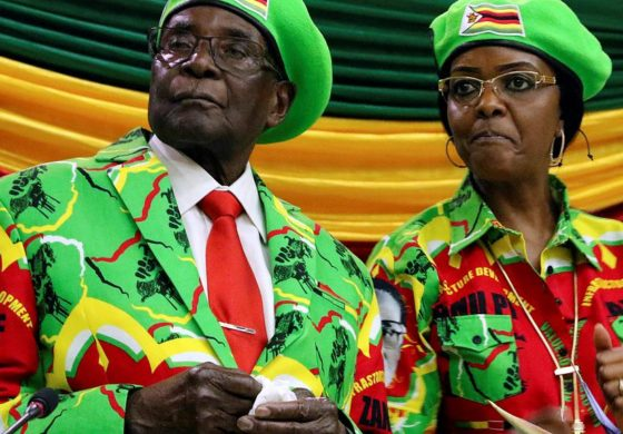 American arrested for insulting Robert Mugabe