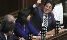 Japan's parliament re-elects Shinzo Abe as prime minister