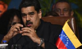 Venezuela's Maduro says he could stop oil sales to US