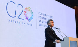 """""""Argentina Assumes Presidency of the G20"""""""