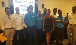 Staff Awards a Success at the Landings