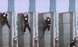 Daredevil falls to death after taking selfie atop 62-story skyscraper in China