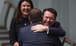 MP proposes to gay partner in Australian parliament