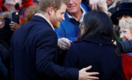 Prince Harry and Meghan wow crowds