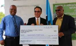 Taiwan Supports Rehabilitation of Saint Lucia's Fisheries Facilities