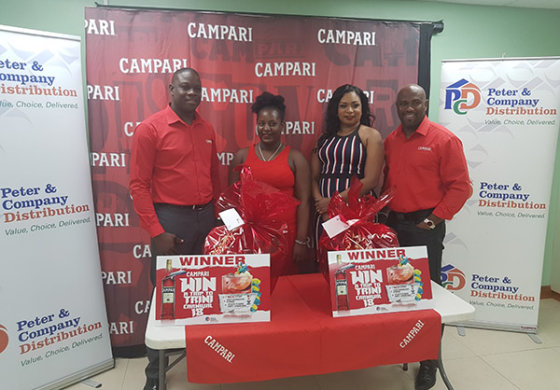 Campari Road To Trini Carnival Winners