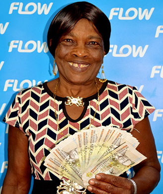 Flow Shares $20,000 Among Christmas Winners