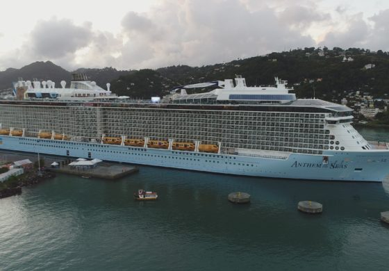 Port Castries hosts its largest cruise ship