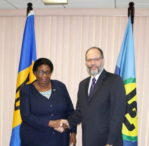 New Barbados Ambassador to CARICOM Ms Veronica Griffith