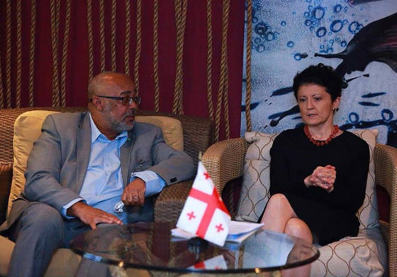 OECS and Georgia Explore New Cooperation to Enhance Caribbean Governance