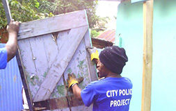 City Police Beautification Projects to Promote Safer Communities