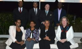Sentencing Advisory Committee entertained at British High Commissioner's Residence in Barbados