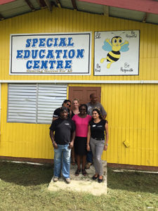 Vieux Fort Special Education Centre Receives Facelift from Coconut Bay-After