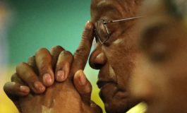 South Africa's president under pressure at key party meeting