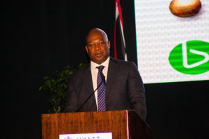 At the event TSTT CEO Dr. Ronald Walcott stated his company will not allow T&T to be left behind in this era of digital transformation