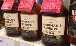 Soleil Summer Festival Custom Bottle Neck Collars on Chairman's Reserve in LCBO Stores