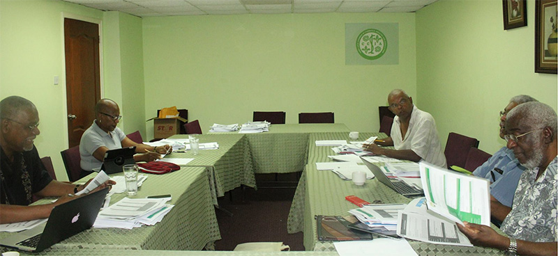Cross section of Chamber judges