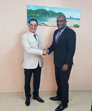 Mexican Ambassador Pays Courtesy Visit to Dennery North MP