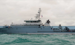 "Call of the Patrol Cutter ""La Confiance"" of the French Navy to Castries – Saint Lucia"