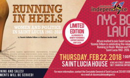 New York City Book Launch for Running in Heels: Women and Politics in Saint Lucia from 1961-2016
